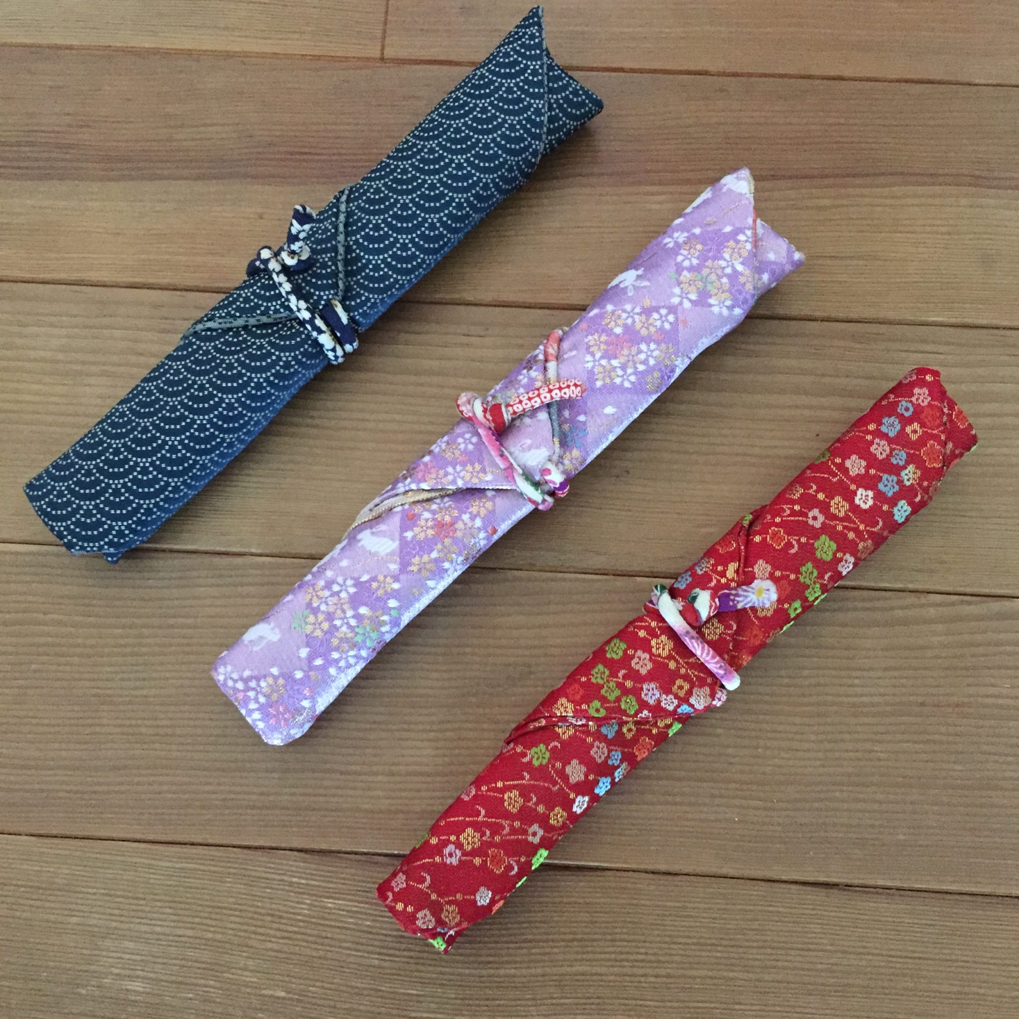 箸袋を作る〜日本文化を学ぶ〜