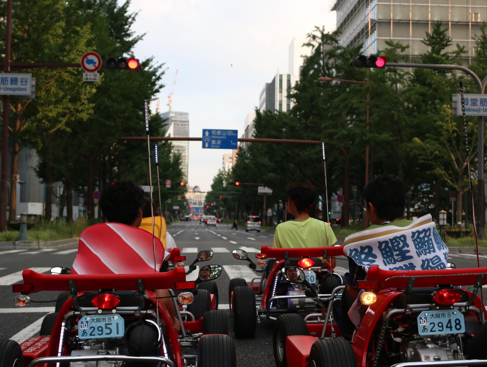 大人のためのカートで公道@大阪を走る〜アキバカートを初体験〜