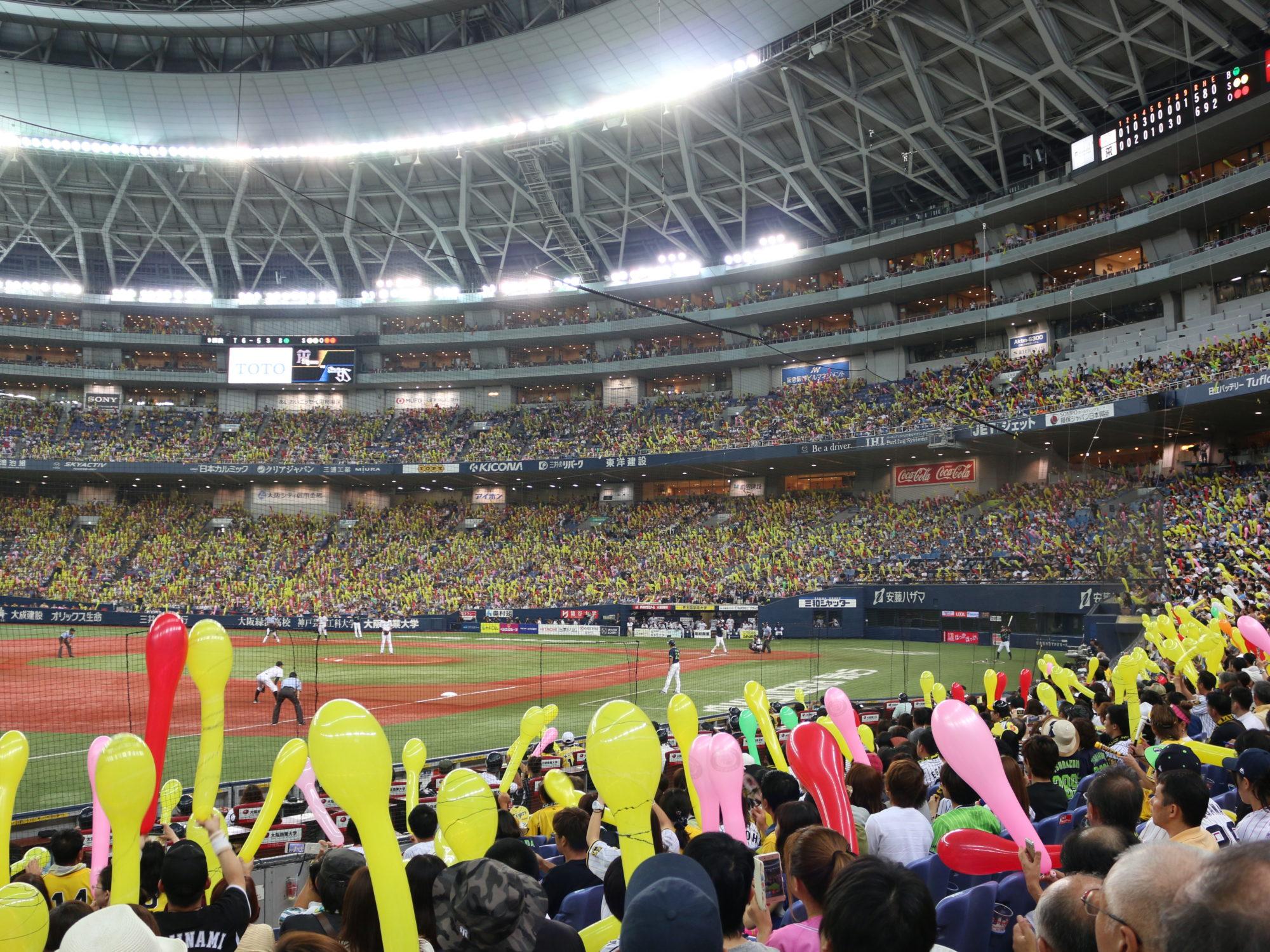 阪神戦を甲子園球場、京セラドーム、名古屋ドームで楽しむ[まとめ]〜内野席からの眺め〜