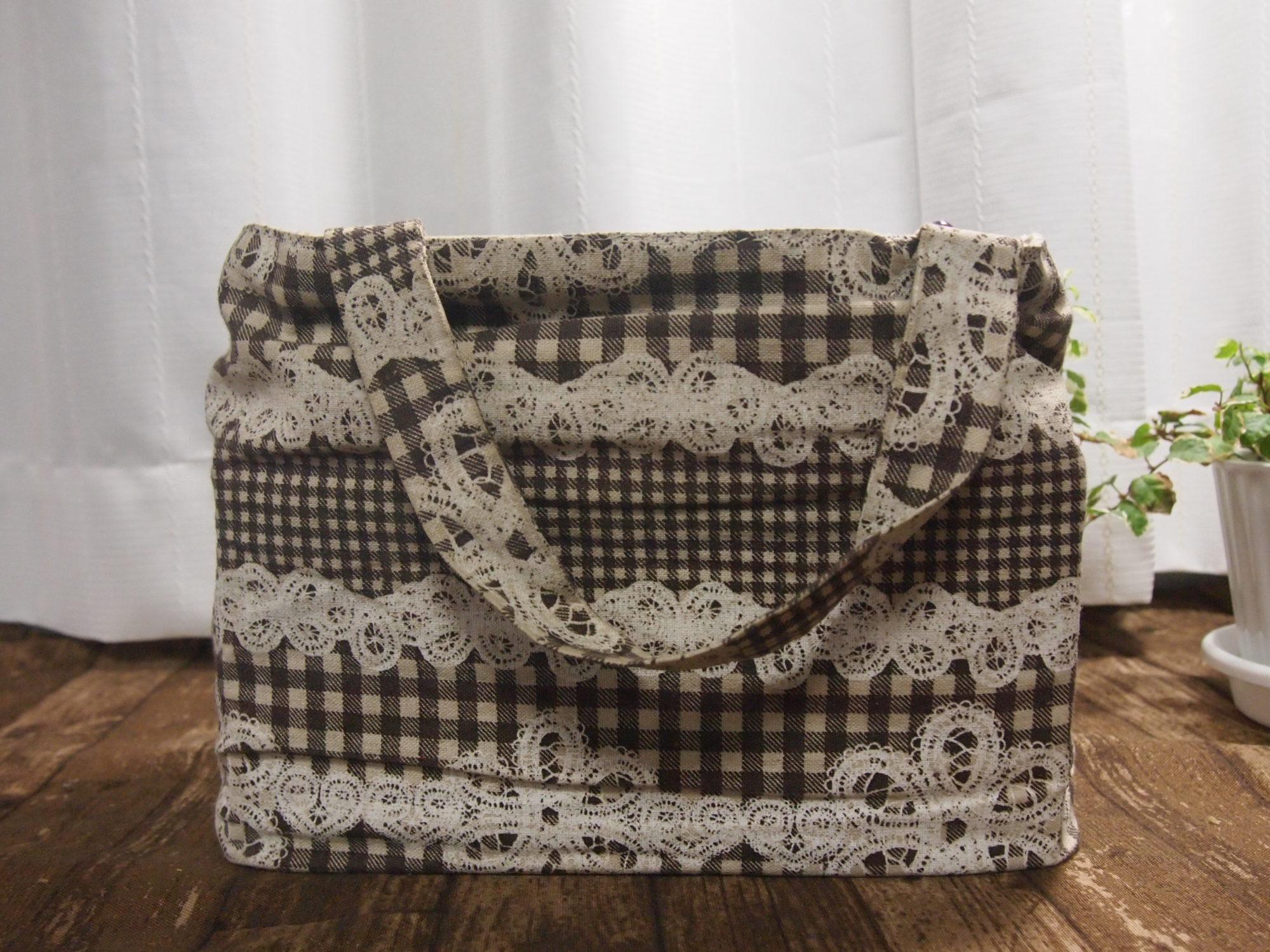 手作りバッグインバッグ〜私の用途に合わせて作る〜