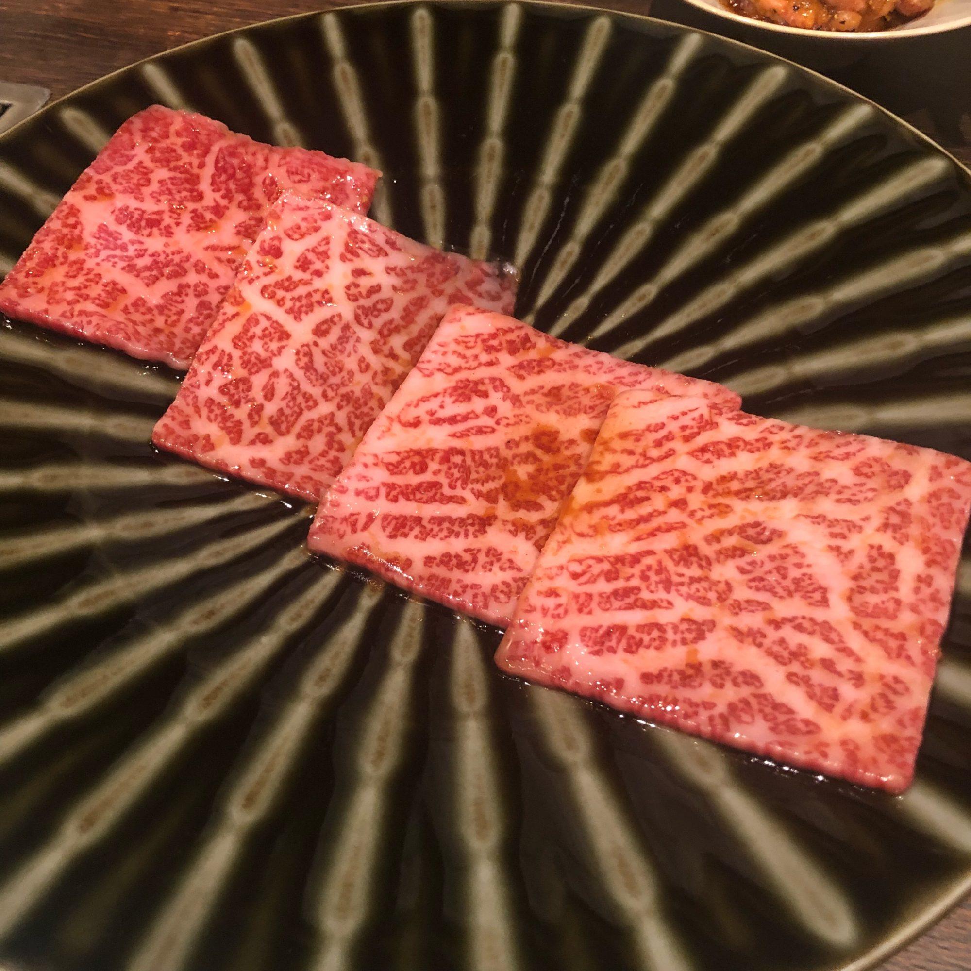 神楽坂 Kazu 別邸で美味しい焼肉をいただく