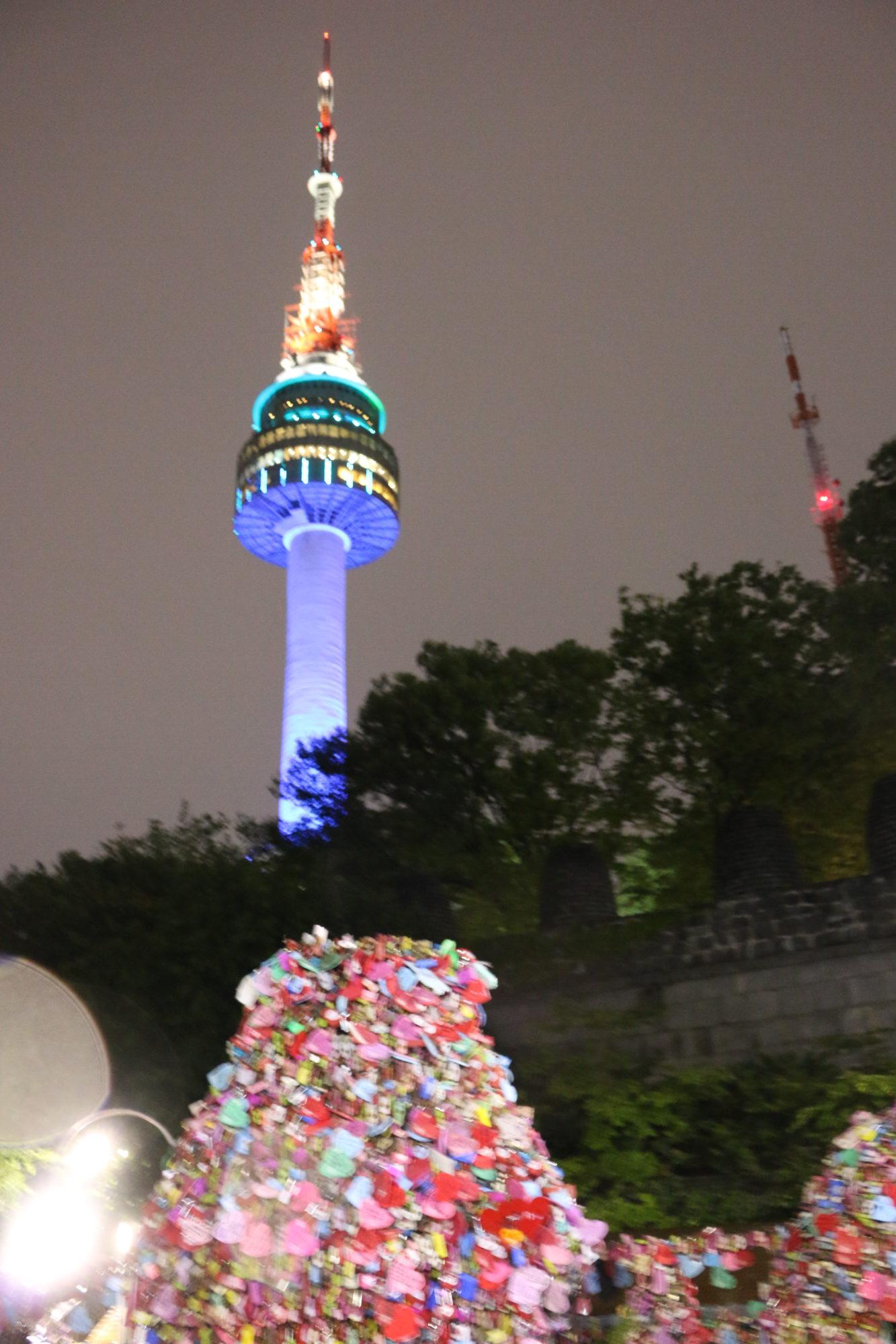 韓国の夜はソウルタワーからの夜景を楽しむ〜2泊3日ソウル旅〜