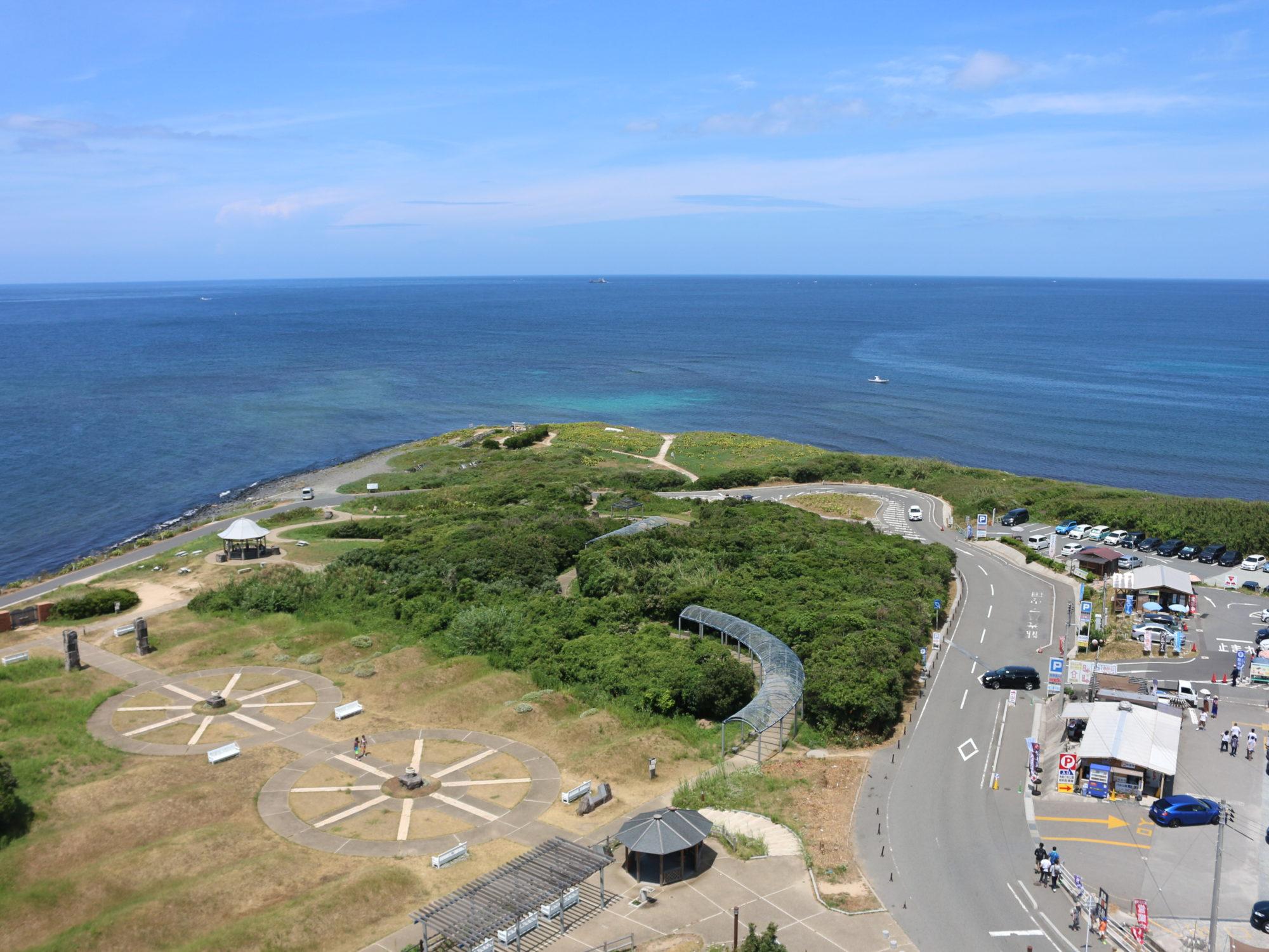 お盆休み山口県旅〜角島灯台からの海の景色を楽しむ〜