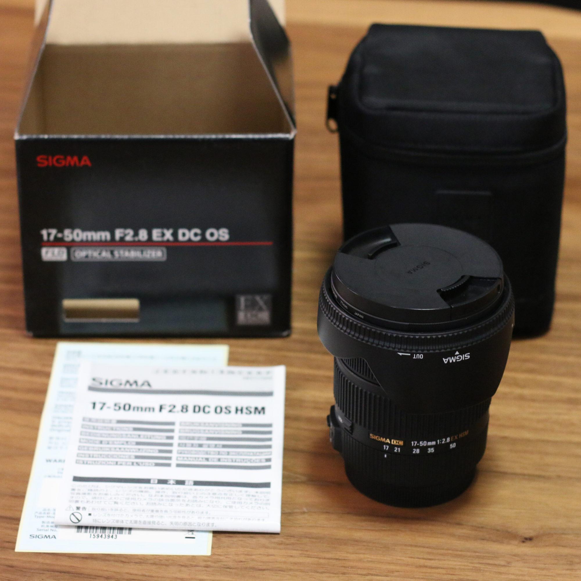canon用 SIGMAのカメラレンズ(中古)が届いた〜!〜メルカリでモノを手放して売ったお金で本当に欲しかったモノを購入〜