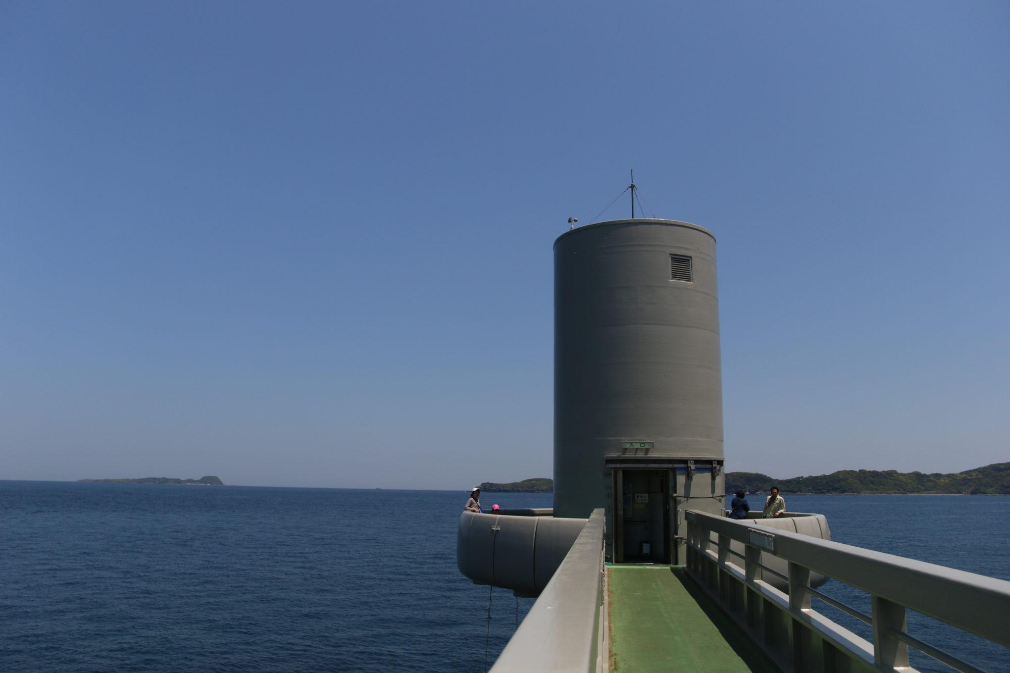 波多岬(佐賀県唐津市)の海中展望台を楽しむ